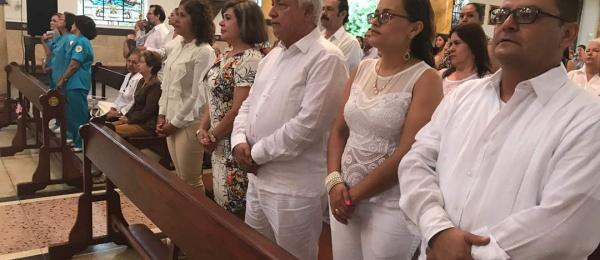 Con eucaristía, Consulado de Colombia en San Antonio del Táchira conmemoró Día de Independencia