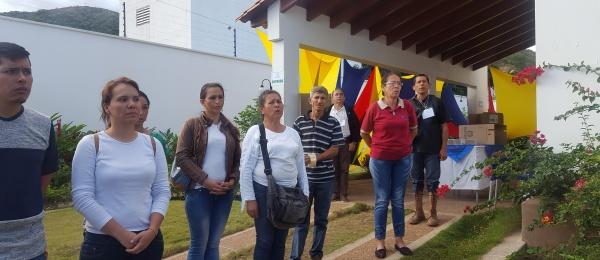 Último de votaciones para la segunda vuelta en el Consulado de Colombia en San Antonio del Táchira
