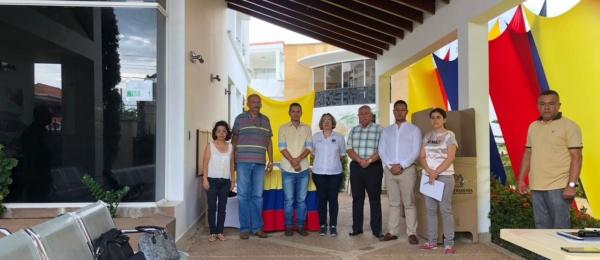 Consulado de Colombia en San Antonio del Táchira dio apertura oficial a las elecciones en el exterior para Presidente y Vicepresidente de la República