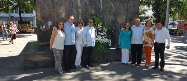 Consulado de Colombia en San Antonio del Táchira se unió a la conmemoración de los 208 años de Independencia Nacional